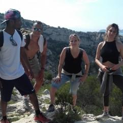 Étape saint thomas - Randonnée à Marseille